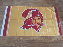 Tampa Bay Buccaneers flag USA Team Logo NFL Premium Team Football Blue Flag 3X5FT(China)