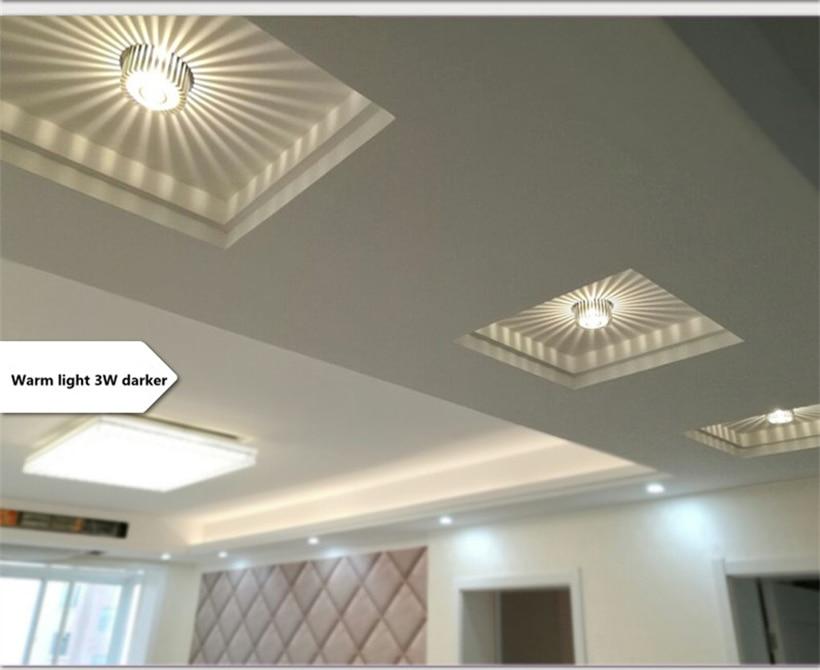 LED Crystal Aisle Celling Light (7)