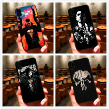 Marvel's The Punisher soft TUP чехол для телефона для iphone 8 7 6 plus X Xs Xr Xmax для samsung Galaxy 8 9 plus 6 7 edge 5 coque в виде ракушки(Китай)