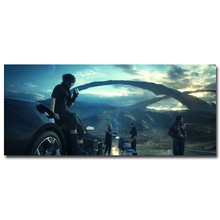 Final Fantasy XV Art Silk Fabric Poster Print 13x30 24x56 inch Vedio Game Noctis Pictures for Living Room Wall Decor 049