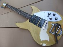 Wholesale New Rick 325 Model Electric guitar 3 pickups with tremolo in natural 330 360 381 wooden 110415(China)