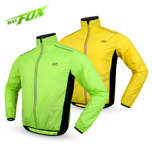 2017 New Men Bicycle Cycling Jacket Breathable Windproof Jacket Cycle Clothing Road Bike Long Sleeve Wind Coat, 5 Colors