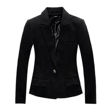New Brand Black Blazer Plus Size Women Blazers and Jackets Slim OL Work Wear Blazer European Style Blaser Feminina blazer women