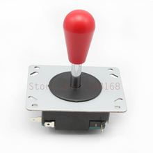 2PCs Spanish style Red Head joystick with micros witch for arcade game machine parts operated as an 8 way with 4 microswitches(China)