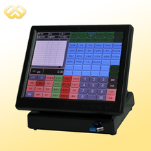 POS1201 POS Terminal Cheap All In One POS System Restaurant POS Machine(China)