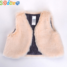 Sodawn Kid Fashion Design Warm Vest Outwear Baby Girl Clothing Baby Boy Winter Clothes Children Waistcoat Good Quality Cheap(China)