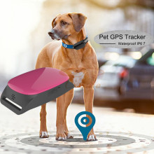 Waterproof Mini GPS Tracker Locator GSM GPRS Tracking System for Pets Dog Cat Old man free app for iOS And android