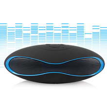 Wireless Bluetooth Speaker X6 Portable Handsfree Speakers FM with Heavy Bass Audio Player Support TF Card