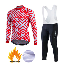 Buy 2017 New Pro Winter Thermal Fleece Cycling Clothing Set Maillot Rock Bicycle Wear Ropa Ciclismo Bike MTB Clothes Bicycling Mens for $41.50 in AliExpress store