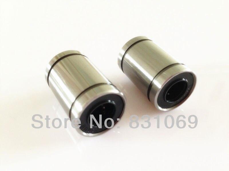 12pcs/lot LM16UU 16mm 16x28x37mm Linear Ball Bearing Bush Bushing 16mmx28mmx37mm Brand New<br><br>Aliexpress