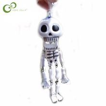Buy 1pc 19cm long Dancing Skeleton toy Party Joke Prank Novelty Trick Funny Skull skull decanter Toys kids adult WYQ for $1.48 in AliExpress store