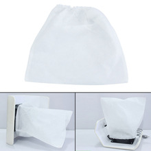 Non-woven Pouch Replacement Bags For Nail Art Dust Suction Collector White