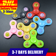 Buy DHL Free 100 PCS Smile EDC Fidget Spinners Plastic Hand Spinner Finger Autism ADHD Time Long Anti Stress Handspinner Toys for $99.00 in AliExpress store