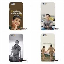 For Samsung Galaxy S3 S4 S5 MINI S6 S7 edge S8 Plus Note 2 3 4 5 Silicone Phone Case Descendants Of The Sun Song Joong Ki(China)