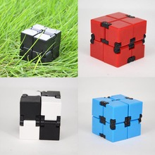Buy Creative Infinite Cube Infinity Cube Magic Fidget Cube Office Flip Cubic Puzzle Anti Stress Reliever Autism Toys ADHD for $2.01 in AliExpress store