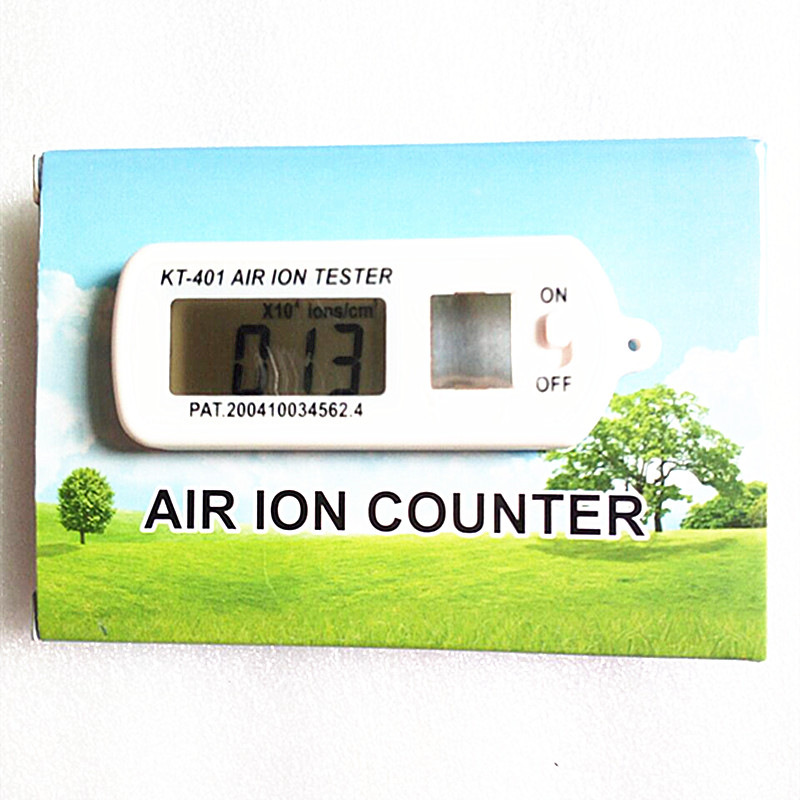 KT-401 AIR Aeroanion Tester ion meter aeroanion detector Negative oxygen ions anion concentration detecto Auto Air Purifier<br>