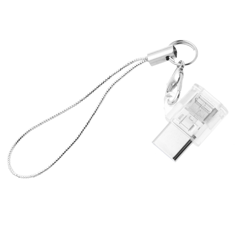 USB 3.1 Type C Male Micro USB Female Converter Keychain Android Phone