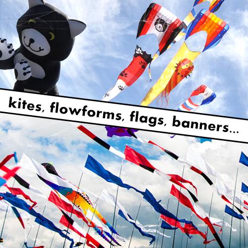 ripstop kite flowforms,flags