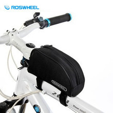 Buy ROSWHEEL Bicycle Beam Tube Pack Bag Mountain Bike Road Bag Bike Storage Bags Brand Cycling Rear Seat Pouch Bicycle Saddle Bag for $9.71 in AliExpress store