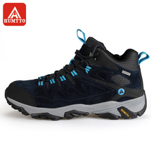 HUMTTO Hiking Shoes Men Winter Outdoor Sports Climbing Shoes Non - slip Warm Lace-up Trekking Sneakers(China)