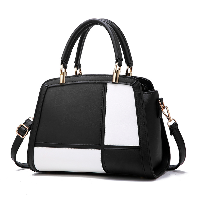 Brand 2017 High Quality Designer Women Bag European Patchwork Cheap Leather Handbag Shop Online Make Up Female Travel Handbags<br>
