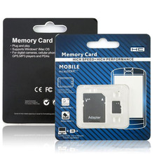 Best qualityretail package Real capacity for memory card128mb~128GB micro TF card TF card for cell phone computer with adapter