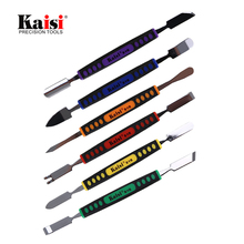 Buy Kaisi 6pcs Dual Ends Metal Spudger Set iPhone iPad Tablet Mobile Phone Prying Opening Repair Tool Kit Hand Tool Sets for $9.02 in AliExpress store