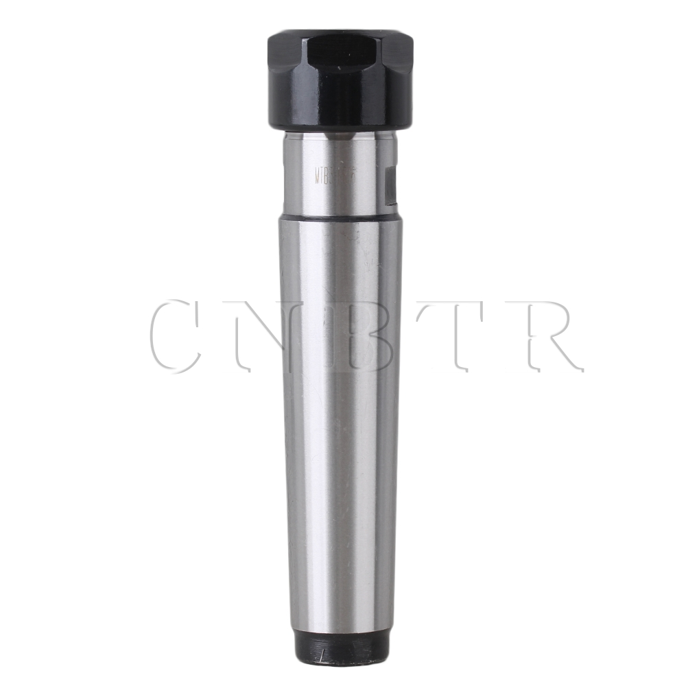 CNBTR Silver Precision Metal MTB3 ER16 Morse Taper Back Pull Shank Collet Chuck Holder<br><br>Aliexpress