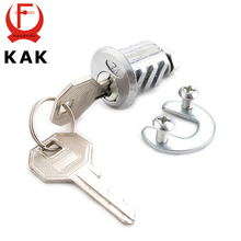 KAK 103 Ribs Cam Lock Door Cabinet Special Mailbox Cupboard Home Locker 20mm Length Furniture Hardware With Iron Keys