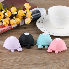 Universal Pop Turtle Earphone Winder Silicone Smartphone Holder Multifunction Mobilephone Sucker Stand for Xiaomi iphone Samsung(China)