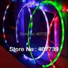 wholesale ab gym diameter 70CM led hula hoop abdominal exerciser pilates sports for health gift free shipping