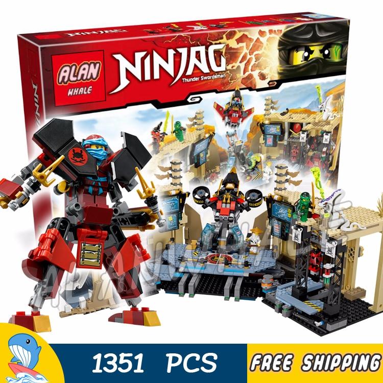 NOUVEAU Lego minifigur ña de Ninjago set 70596 Samouraï X Grottes Chaos