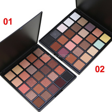Professional 25 Color Eyeshadow Palette Natural Matte Shine Eye Shadow Smoky Make up Pallete Set Makeup Silky Powder(China)