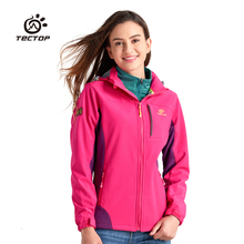 Camping Softshell Jacket Women Thermal Outdoor Hiking Winter Jacket Windproof Outdoor Woman Windproof Waterproof Clothing
