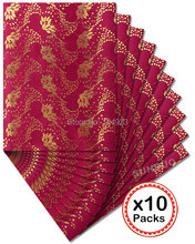 DHL free shipping Top Wine red gold SEGO headtie African gele Head Tie Wrap 10 packs/ lot 20PCS total 2551
