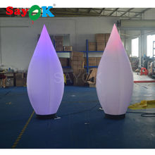 free shipping inflatable Water droplets, inflatable cone for wedding decoration supplies