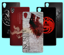 Ice and Fire Cover Relief Shell For Sony Xpeira Z5 Compact Cool Game of Thrones Phone Cases For Xperia Z5 Premium Z5+
