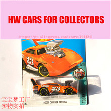 New Arrivals 2017 Hot 1:64 Car wheels Dodge Charger Daytona Metal Diecast Cars Collection Kids Toys Vehicle For Children