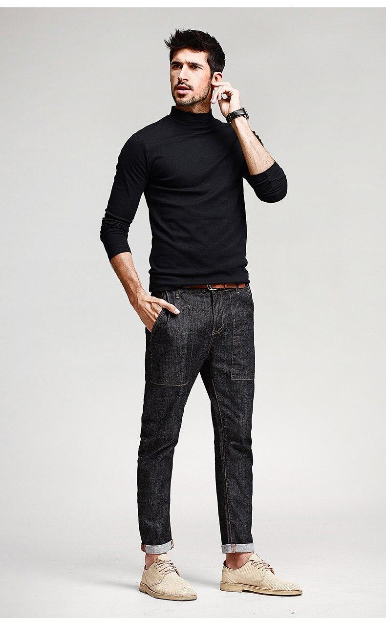 HTB1bzZ8NpXXXXcHaXXXq6xXFXXX2 - KUEGOU Mens Casual T Shirts 5 Solid Color Brand Clothing For Man's Long Sleeve Slim T-Shirts Male Wear Plus Size Tops Tees 803