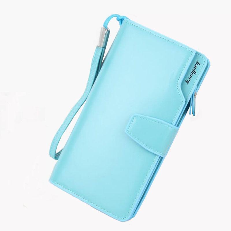 2017 New women wallet Korean simple color zipper girl holding bag PU phone card holder long paragraph ladies wallet purse clutch<br><br>Aliexpress
