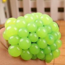 6.5CM Random Color Healthy Funny Trick Toy Anti Stress Reliever Grape Ball Squishy Joke Extrusion Relief Kid Gags Joke Toy P15