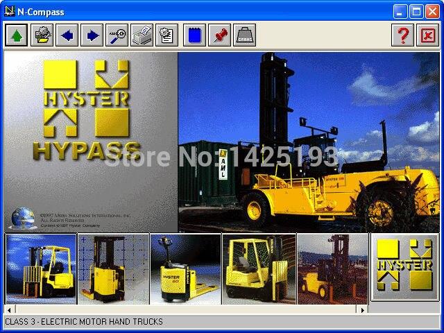 Hyster Lift Truck Hypass 2006<br><br>Aliexpress