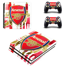 Buy Arsenal Football Team PS4 Pro Skin Sticker Sony PlayStation 4 Console Controllers PS4 Pro Skin Stickers Decal Vinyl for $9.49 in AliExpress store