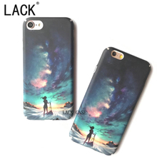 LACK Colorful Sky Phone Cases For iPhone 6 Fashion Scenery Sunset Painting Phone Shell For iphone 6S 7 7Plus Hard PC Back Cover