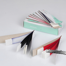 High Quality 2 Boxes Articulating Paper Red Strips Hot sale RED & BLUE(400 SHEETS) Dental Lab Products(China)