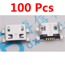 100pcs Micro USB 5pin B Type Female Socket S11 Connector  Plain Mouth For Mobile Phone Charging High Quality Sell At A Loss