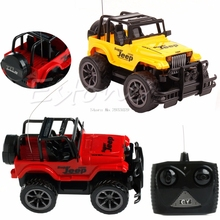 Cool 1:24 Drift Speed Radio Remote control RC Jeep Off-road vehicle Car kids Toy Gift -B116