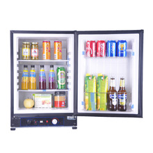 60L LPG Gas Refrigerator Fridge Mini Portable Propane Electric AC110V/220V DC12V Reversible Door Caravan Cooler for Car RV Boat(China)