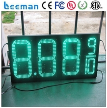 leeman RF Wireless Numeric Display LED Gas Price Sign 7 segment outdoor LED gas price sign for gas station