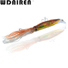 1Pcs Octopus Crank Swings Squid 23cm 40g Bait Artificial 6 Color Hard Bait Tuna Sea Fishing Wobblers Spinner Tools Allure NR-350(China)